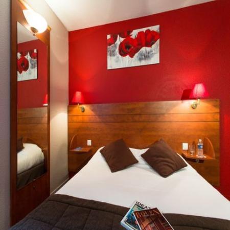Kyriad Rouen Centre : Double Room
