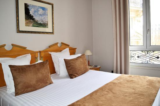 Quality Hotel Malesherbes: Chambre