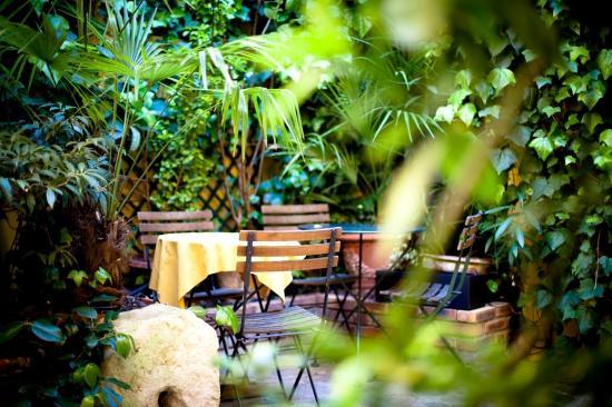 Hotel de la Tulipe Tour Eiffel : Garden