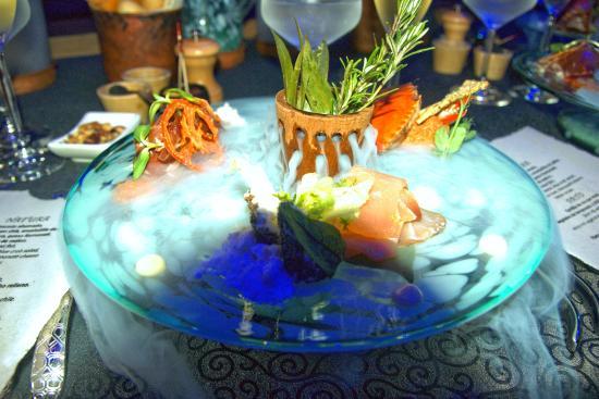 Playa del Carmen, Mexique : Appetizers served in styles