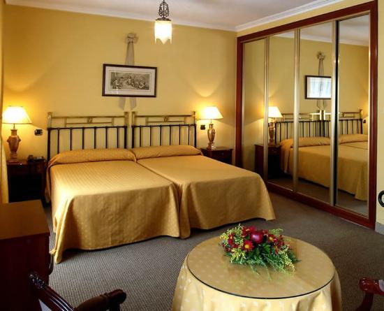 Hotel Fernán González: Room