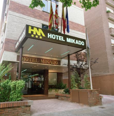Catalonia Mikado Hotel: Entrance
