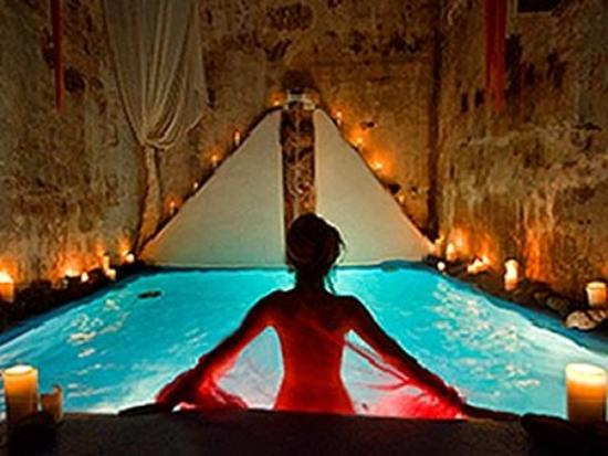 Private indoor pool suites  Indoor Pool Spa - Picture of Suites of the Gods Spa Hotel ...
