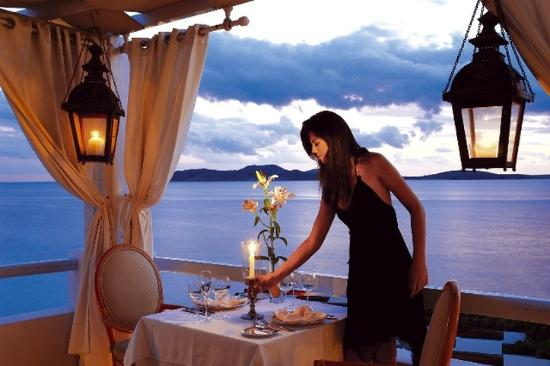 Saint John Hotel Villas & Spa: Restaurant