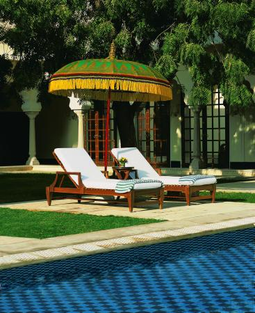The Oberoi Vanyavilas: Pool view