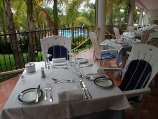 Ria Park Garden Hotel: Restaurant