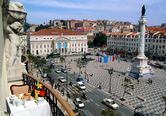 Hotel Metropole: Balcony