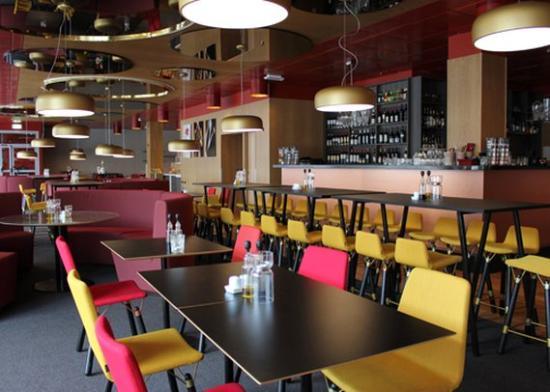 Clarion Hotel Gillet: restaurant