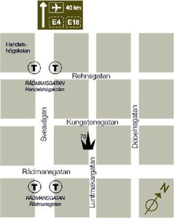 Rex Hotel: Local Map