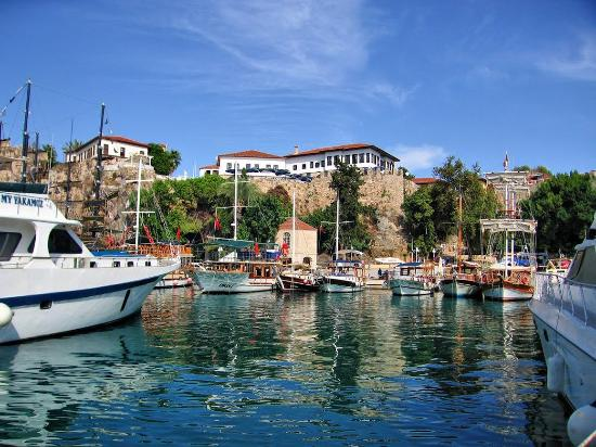 Alp Pasa Hotel : We are only 10 km from Antalya Airport, and in close proximity to the ancient harbour.