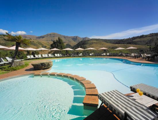 Drakensberg Sun Resort: Pool TIF