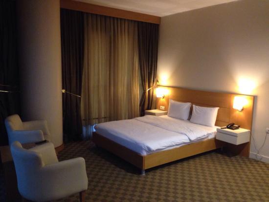 Pak Otel: Odalar büyük