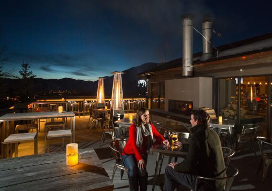 Snow King Resort: Winter Deck
