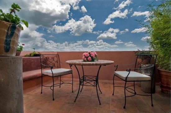 Casa Rosada Hotel: Terrace Master Suite R