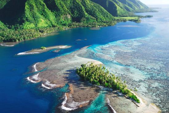 Tahiti, Französisch-Polynesien: Motu Lost Island