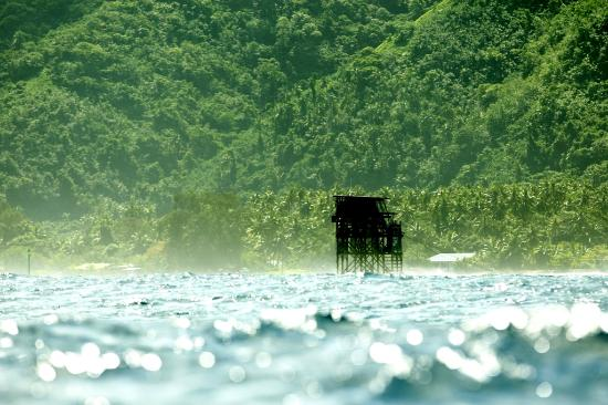 Teahupoo in Tahiti