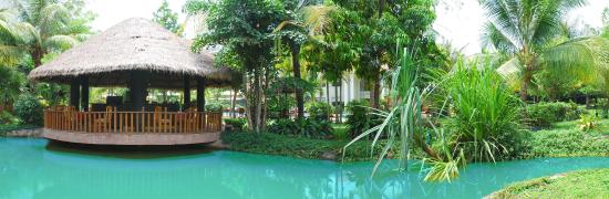 Angkor Century Resort & Spa: Angkor Century Resort And Spa Lagoon Pool Bar Fish