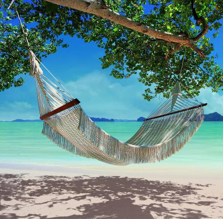 Nong Thale, Tayland: Hammock On The Beach