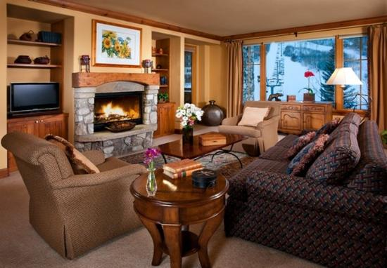 Elkhorn Lodge: Elkhorn Living Room