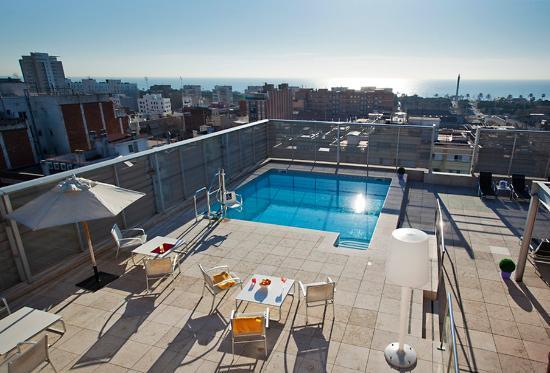 Ilunion barcelona hotel barcelone espagne voir 951 avis for Appart hotel barcelone avec piscine