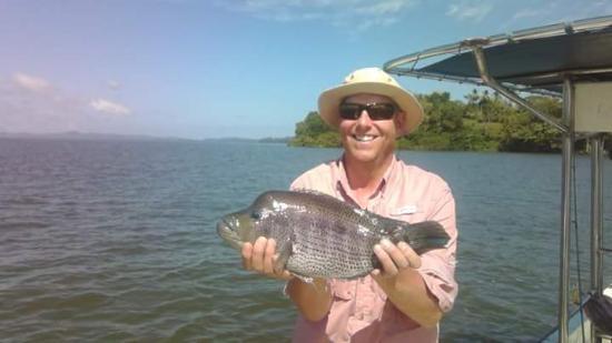 San Carlos Sport Fishing: lagunero. rainbow bass fishing rio san juan nicaragua