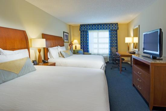 Hilton Garden Inn Tampa Airport Westshore: Double Guest Room