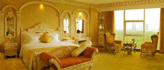 Guansheng Huangshibao Hotel : Deluxe Garden Room