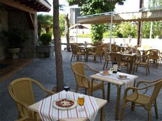 Hotel Las Gacelas: Terrace
