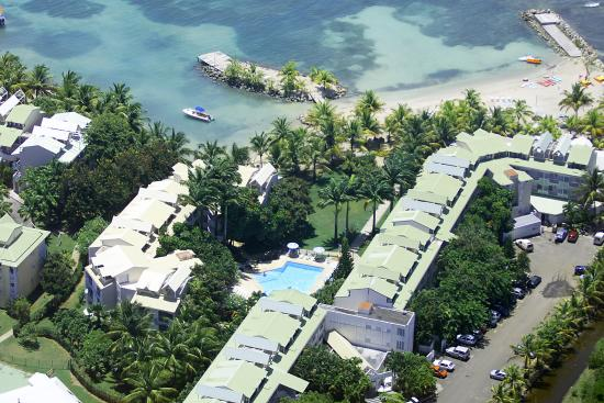 Hotel-Residence Canella Beach: Aerial