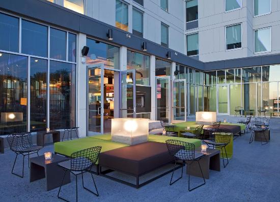 aloft Plano: Backyard