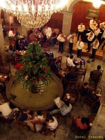 Hotel Frances : Restaurant