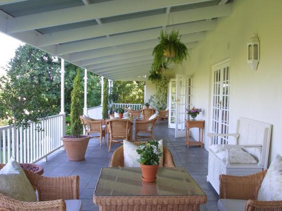 Rosenhof Country House: Verandah