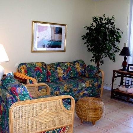 Gulf Shores Surf & Racquet Club: Living Area