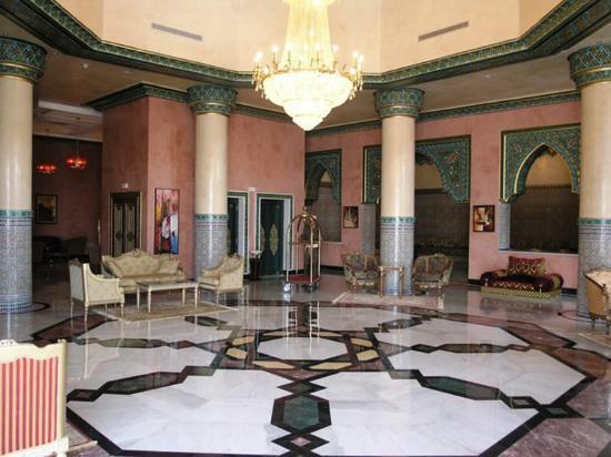 Riad Mogador Gu liz : Mogador Gueliz Tulip Inn Lobby