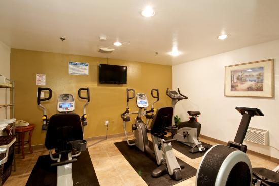 Quality Inn San Diego Downtown North : Exercise Room