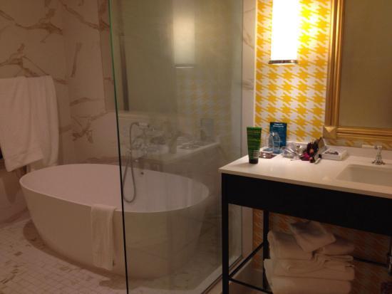 Bathroom In The King Spa Room Picture Of Kimpton Hotel Monaco - Bathroom design pittsburgh
