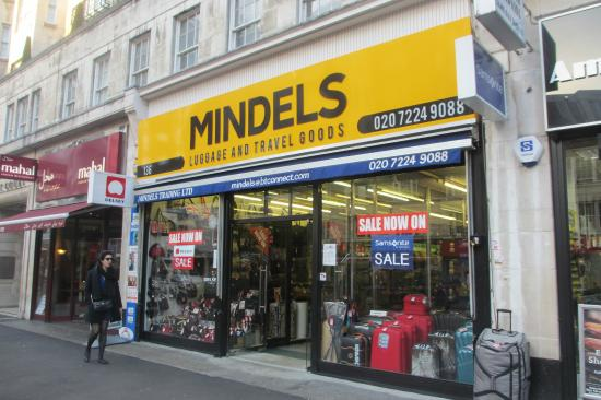 Mindels -- excellent shop for luggage and bags - Picture of ...