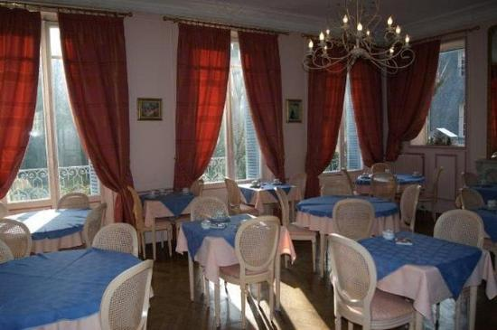 Castel Albertine : Breakfastroom