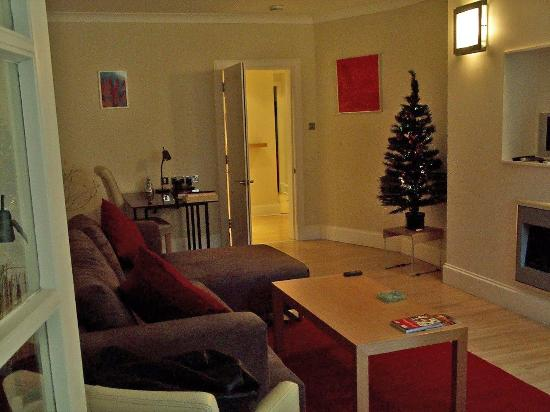 Dreamhouse Apartments Rothesay: Livingroom