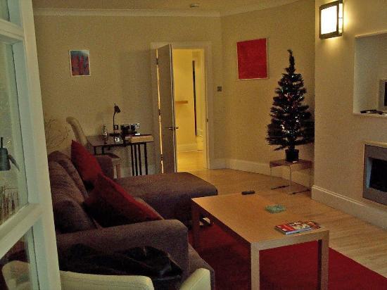 دريمهاوس آبارتمينتس إيدينبورج وست إيند: Livingroom