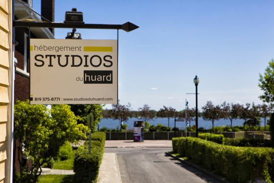 Les Studios du Huard : Vue sur le fleuve