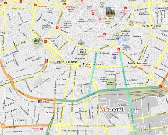 MiHotel : Map