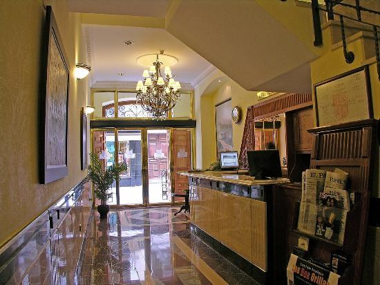 Hotel Las Moradas: Reception