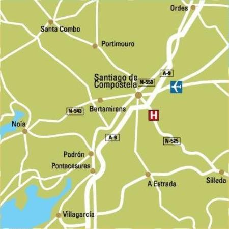 Hotel Santa Lucia: Area