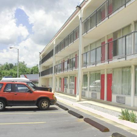Budget Inn Alcoa: Exterior View