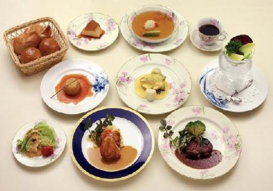 Nikko Kanaya Hotel: Classic Dinner Course