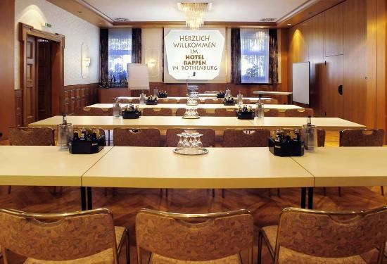 Hotel Rappen Rothenburg ob der Tauber: Meeting