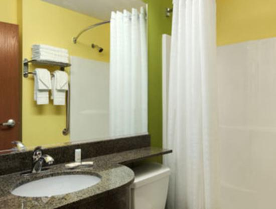 Microtel Inn & Suites by Wyndham Tuscumbia/Muscle Shoals: Bathroom