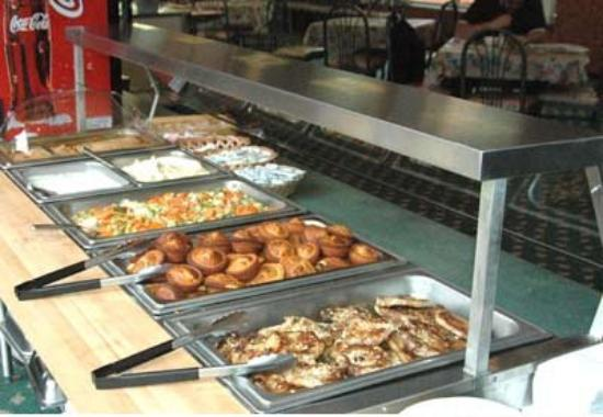 University Hotel at Sam Houston State: Cafe Buffet