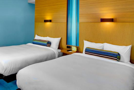 Aloft Tallahassee Downtown: Double Bed Guest Room
